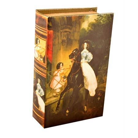 Купить Книга-сейф ALPARAISA «Всадница» СС0019/1