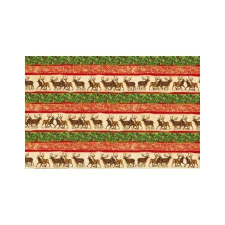 Купить Бумага для декупажа Tassotti «Новогодние олени»