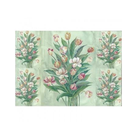 Купить Бумага для декупажа Finmark Decoupage «Нарисованные тюльпаны»