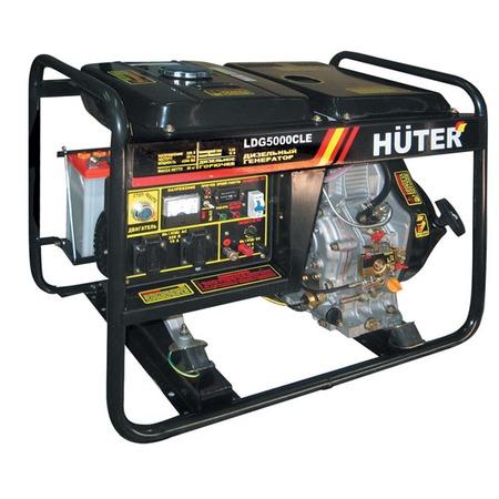 Купить Электрогенератор Huter LDG5000CLE