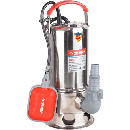 Купить Насос погружной для грязной воды Зубр ЗНПГ-750-С