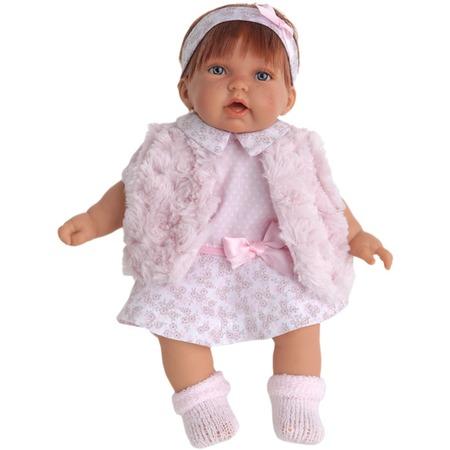 Купить Кукла Munecas Antonio Juan «Анна в розовом жилете»