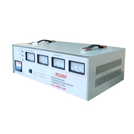 Купить Стабилизатор напряжения трехфазный Ресанта АСН 3000/3