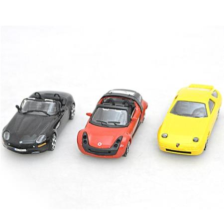 Купить Игровой набор Bburago Три металлические машины
