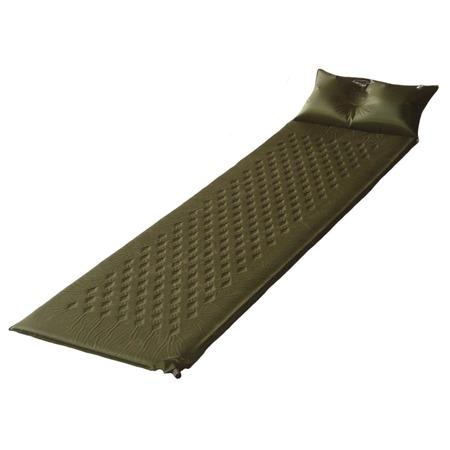 Купить Коврик туристический самонадувающийся с подушкой Larsen Camp HT006