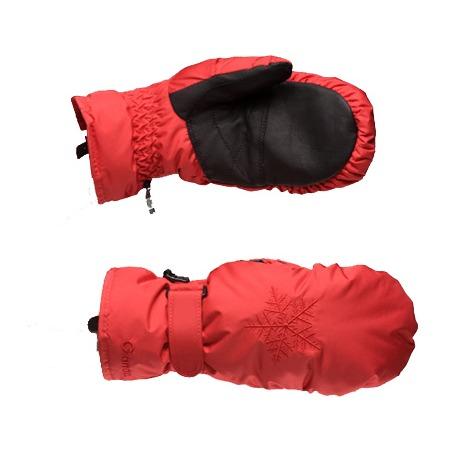 Купить Варежки GLANCE Crystal Mitten (2012-13). Цвет: красный