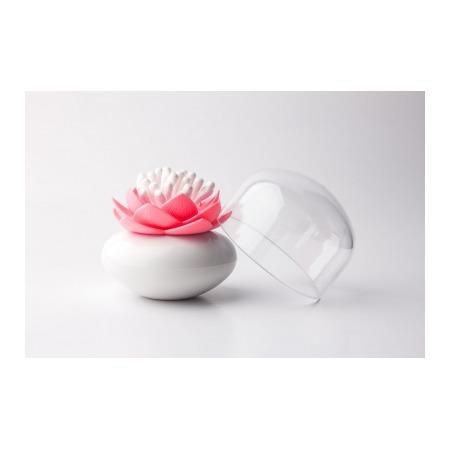 Купить Контейнер для хранения ватных палочек Qualy Lotus