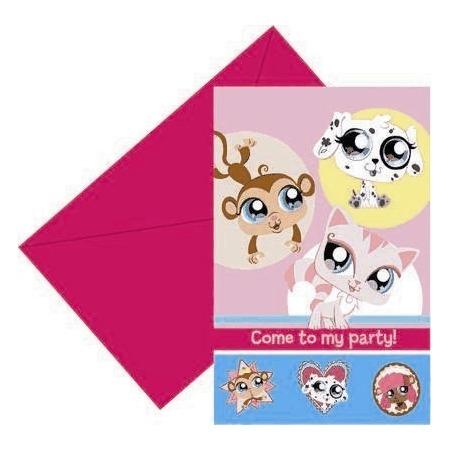 Купить Приглашения в конвертах Procos «Маленький зоомагазин»