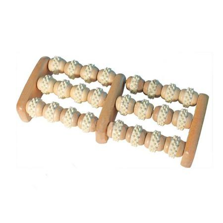 Купить Массажер роликовый для ног Банные штучки деревянный
