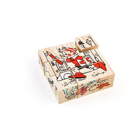 Купить Кубики Томик «Герои сказок»