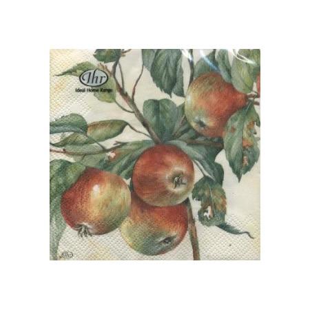 Купить Салфетки бумажные для декупажа IHR «Яблоки на ветке»