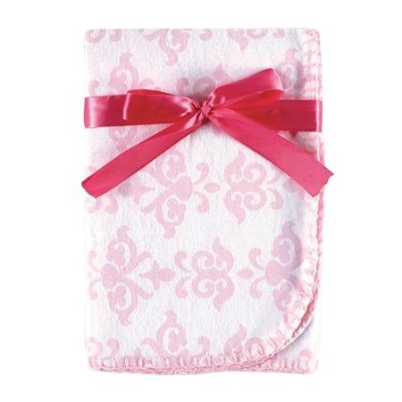 Купить Одеяльце пеленальное с подарочной ленточкой Hudson Baby «Узоры»