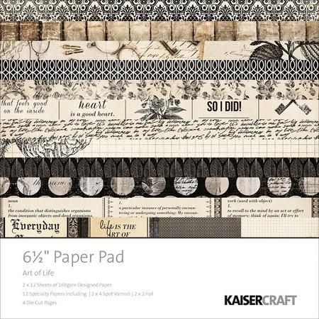 Купить Набор бумаги для скрапбукинга с вырубками Kaisercraft Art of Life
