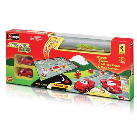 Купить Игровой коврик Bburago Две машины Ferrari