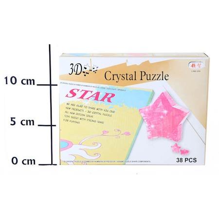 Купить Кристальный пазл 3D Crystal Puzzle «Звезда»
