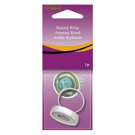 Купить Заготовка металлическая для круглого кольца Polyform Products Company Sculpey Round Ring