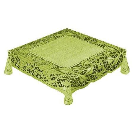 Купить Скатерть Haft 50912. Цвет: оливковый