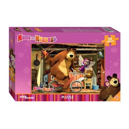 Купить Пазл 24 элемента Step Puzzle «Маша и Медведь» 90013