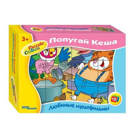 Купить Кубики Step Puzzle «Попугай Кеша»