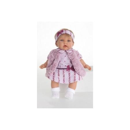 Купить Кукла Munecas Antonio Juan «Анна в фиолетовом жилете»