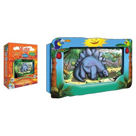 Купить Объемная картинка Vizzle Динозаврик