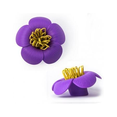 Купить Магнит для скрепок Qualy Blossom