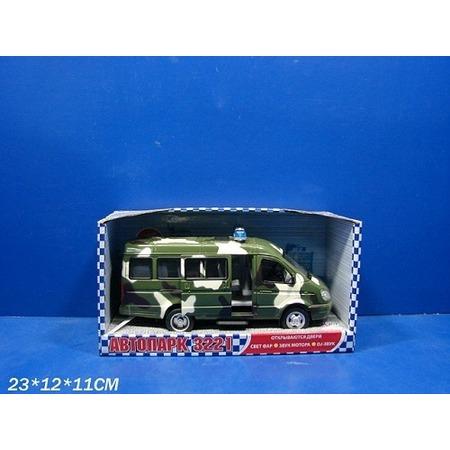 Купить Машина инерционная Joy Toy «Газель 3221 Военная» Р40531