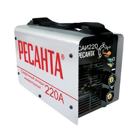 Купить Сварочный аппарат инверторный Ресанта САИ 220