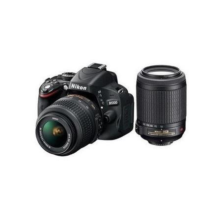 Купить Фотокамера цифровая D5100 18-55 mm VR / 55-200mm VR