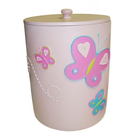 Купить Ведро для ванных принадлежностей TAC Butterfly