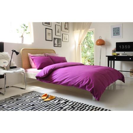 Фото Комплект постельного белья Dormeo Una. 2-спальный. Цвет: фиолетовый