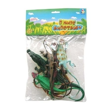 Купить Набор ящериц 1 TOY Т50531