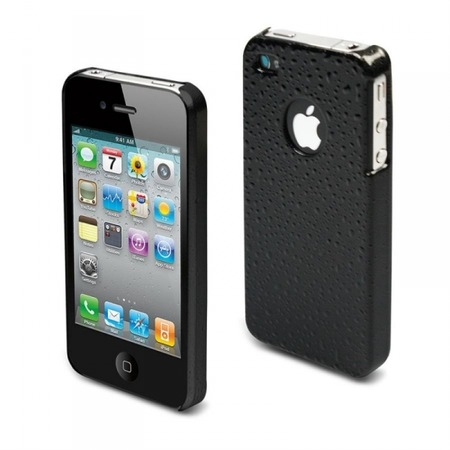 Купить Чехол Muvit Black Rain Glossy Back Cover для iPhone 4S