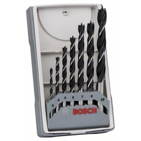 Купить Набор сверл по дереву Bosch X-Pro Line, 3-10 мм