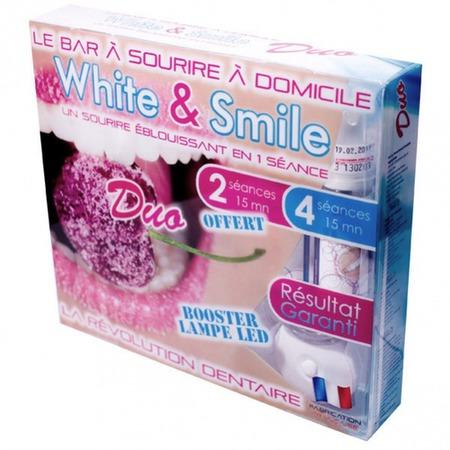 Купить Набор для отбеливания зубов White and Smile Duo