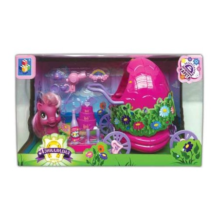 Купить Пони с волшебной каретой и аксессуарами 1 TOY Т56608