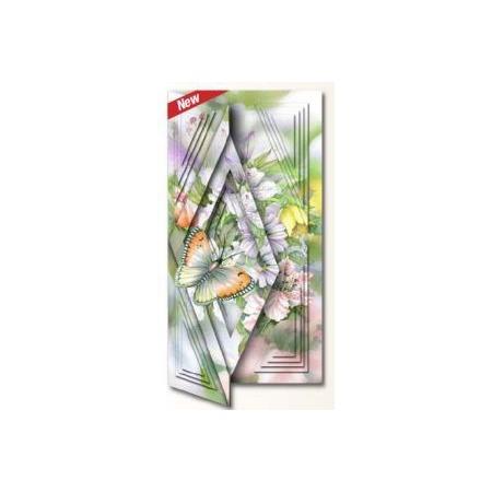 Купить Набор для создания открытки Reddy Creative Cards «Бабочка и шиповник»