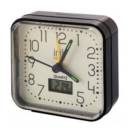 Купить Часы-будильник с термометром Irit IR-500