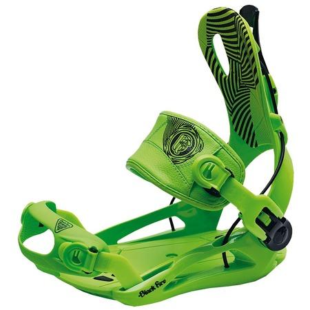 Купить Крепления сноубордические Black Fire BF FT green (2013-14)