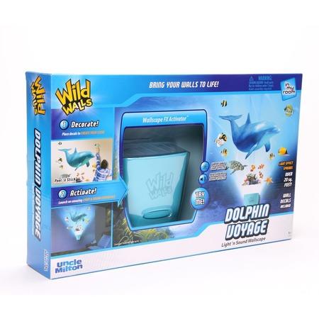 Купить Интерактивный настенный проектор Uncle Milton «Путешествие с дельфином»