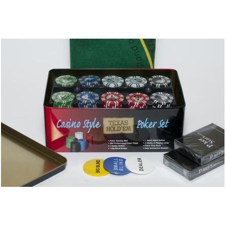 Купить Набор для покера Ningbo Holdem Light Premium, 200 фишек