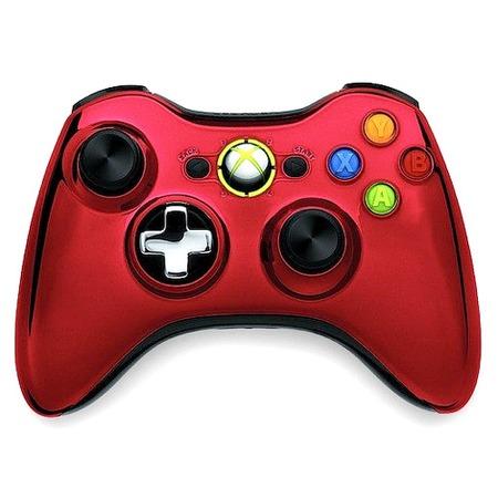 Купить Геймпад Microsoft Xbox 360 Wireless Controller Chrome Series