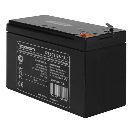 Купить Батарея для ИБП IPPON IP12-7
