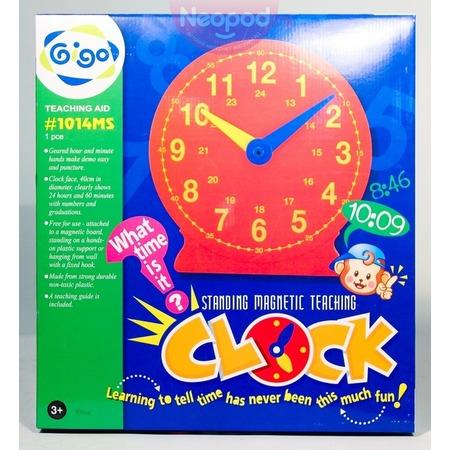 Купить Конструктор развивающий Gigo «Большие часы»