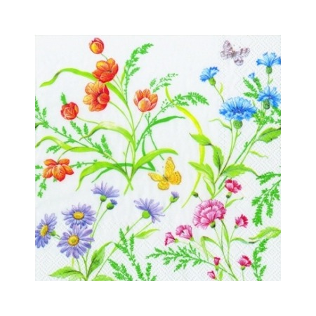 Купить Салфетки бумажные для декупажа IHR «Майские цветы»