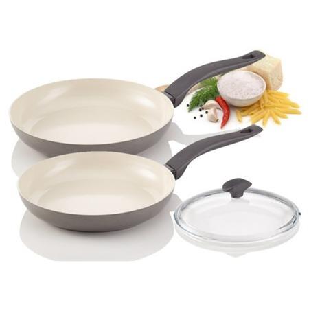 Фото Комплект сковород Delimano Ceramica Prima Trio Pan Set
