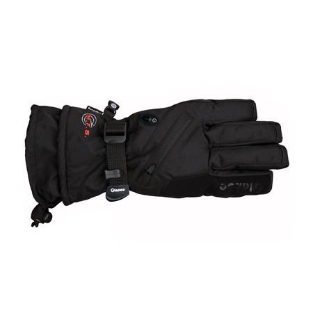 Купить Перчатки горнолыжные GLANCE Fighter (2013-14). Цвет: черный