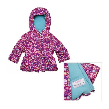 Купить Куртка утеплённая с капюшоном Amy Byer Цветочек-pink