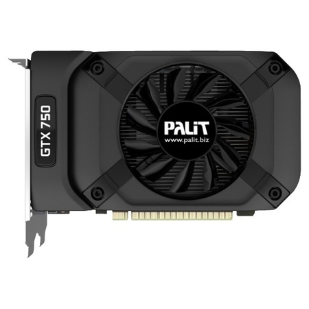 Купить Видеокарта Palit GeForce GTX 750 PCI-E nVidia STORMX OC bulk 1024Mb 128bit