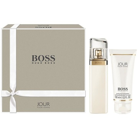 Купить Набор женский: парфюмированная вода и лосьон для тела Hugo Boss Jour, 50 мл, 100 мл